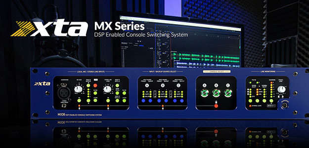 Procesory MX36 Console Switching System od XTA
