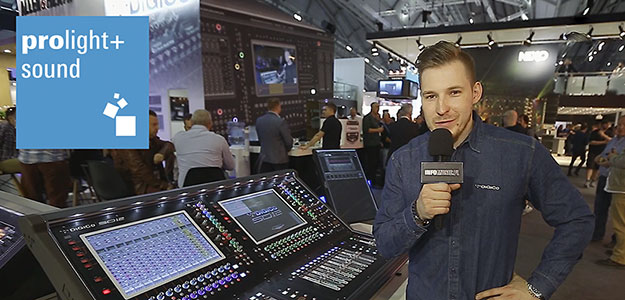 PL+S'18: Co nowego w konsoletach DiGiCo? [VIDEO]