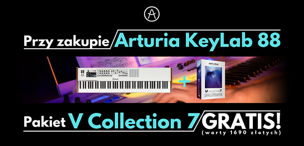 Arturia V Collection 7 gratis przy zakupie kontrolera KeyLab 88