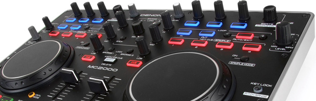 TEST kontrolera Denon MC2000