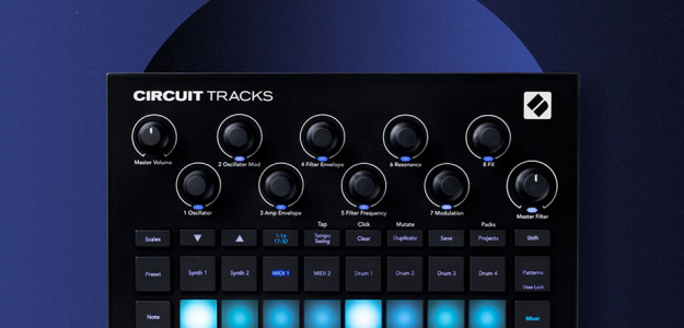 Novation aktualizuje soft Circuit Tracks do wersji 1.1.5