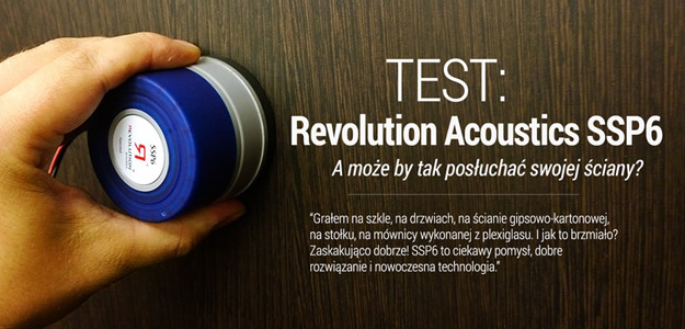 TEST: Wzbudnik audio Revolution Acoustics SSP6