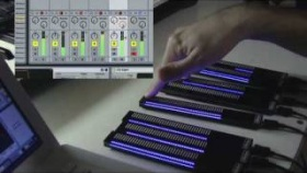 VMeter USB MIDI Touch Strip & LED - new firmware demo