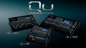 Allen & Heath Qu Chrome Edition