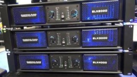 NEW American Audio ELX 2000, 3000, & 4000 Amps