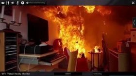 Photorealistic Fire Investigation training in Virtual Reality