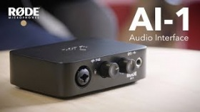 Introducing the R?DE AI-1 Studio Quality Audio Interface