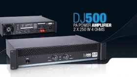 LD Systems DJ500 - PA Power Amplifier 2 x 250 W 4 Ohms