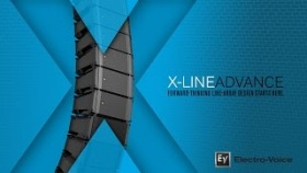 X-Line Advance Compact Vertical Line-Array Loudspeaker Systems
