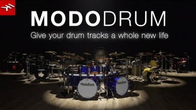 MODO DRUM - Give your drum tracks a whole new life
