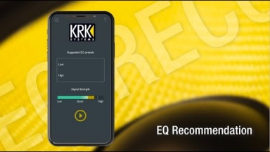 New KRK Audio Tools App | EQ Recommendation Tool